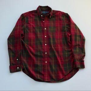 Polo Ralph Lauren Plaid Classic Flannel Shirt